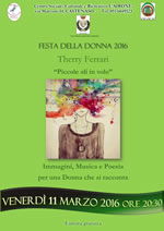 Poetessa Therry Ferrari 11 marzo 150